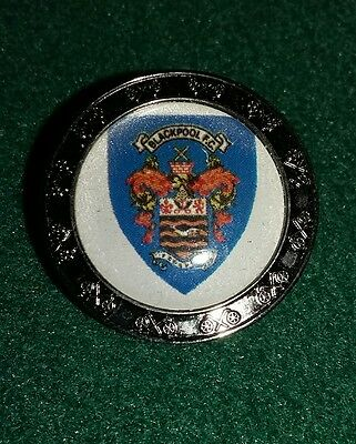 Blackpool F.c.golf Ball Marker