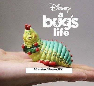 Disney A Bug's Life Heimlich German accented caterpillar PVC Figure Figurine 7cm