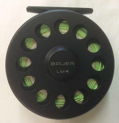 Bauer U.s.a Lm4 8/9Wt Fly Reel *used*