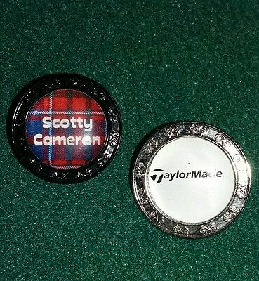 Talormade Scotty Cameron Golf Ball Markers