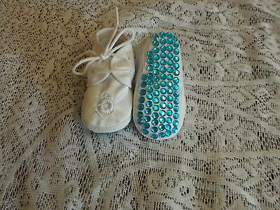 Baby Boys Romany Bling Pram Shoes 0-4 Months