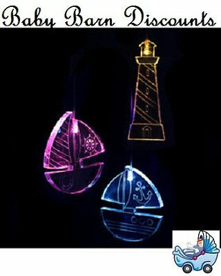 NEW Mobile Glow Light  - Nautical from Baby Barn Discounts