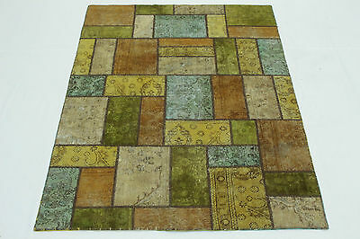 Patchwork Vintage Orient Tapis pastelle moderne 200x150 Used Look 167073