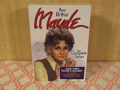 Bea Arthur Maude: The Complete Series (DVD, 2015, 19-Disc Set) NEW