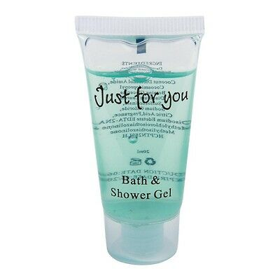 100 X 20ml Just For You Bath And Shower Gel 79X39X22mm Commercial
