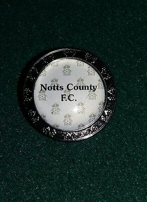 Notts County F.c. Golf Ball Marker