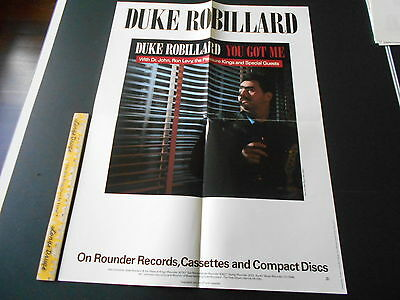 Duke Robillard, Black Top Records 24 X 18 Inch Poster