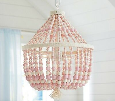 NEW Pottery Barn KIDS Dahlia Chandelier, PINK