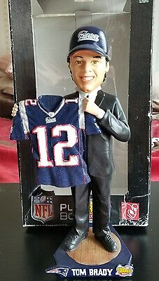 Tom Brady New England Patriots Draft Day NFL bobblehead
