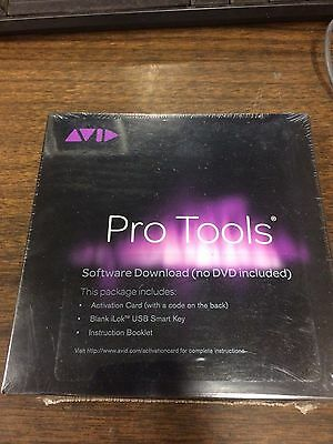 Avid Pro Tools 11  iLok & Activation Card 9900-65220-00 New Sealed