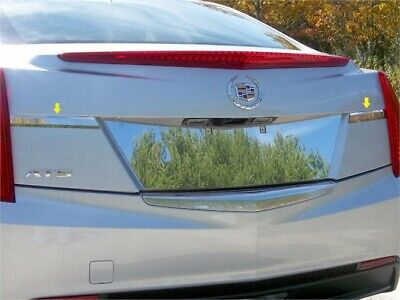 Fits 2013-2016  CADILLAC ATS 4-door, Does not fit Coupe -Stainless Steel License