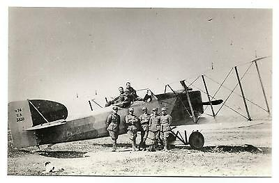 Greece? Asia Minor? Breguet-14 Aircraft Airplane Of Hellenic Air Force Photo