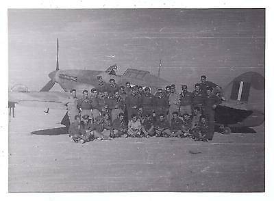 335th SQUADRON OF HELLENIC AIR FORCE & HURRICANE AIRCRAFT IN MIDDLE EAST PHOTO