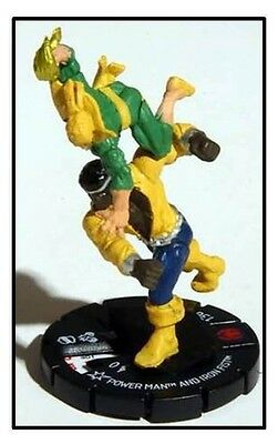 Marvel Heroclix Secret Invasion Power Man And Iron Fist #58 New With Card