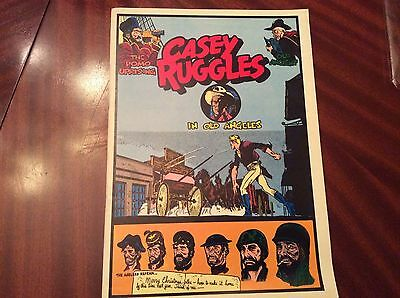 Casey Ruggles, In Old Angeles by Warren Tufts, Dailies 11/20/50 thru 5/12/51