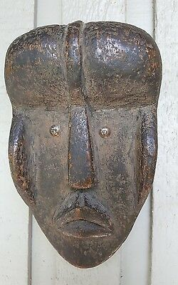 African Zaire Tribal mask antique 1800's. Passport mask Zaire