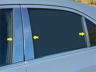 Fits 2013-2016  CADILLAC ATS 4-door, Does not fit Coupe -Stainless Steel Pillars