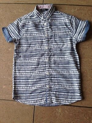 Boys Short Sleeve Shirt Age 9-10