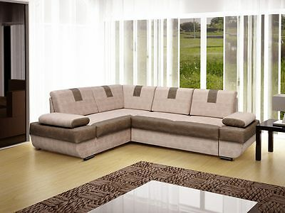 - Boston - Best Sale New Corner Sofa Bed, Sleep Function more than 4 seater
