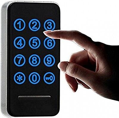Electronic Cabinet Lock Kit Set, Digital Touch Keypad Lock, Keyless Door Lock