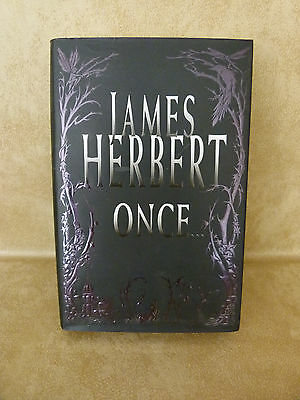 James Herbert Books : Hardbacked : The Ghosts of Sleath & Once : Nice Condition