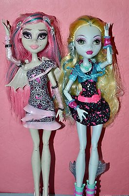 Monster High - Rochelle Goyle & Lagoona Blue - Ghouls Night Out Dolls in Outfits
