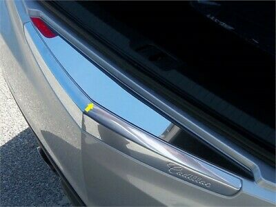 Fits 2013-2016  CADILLAC ATS 4-door, Does not fit Coupe -Stainless Steel Rear Bu