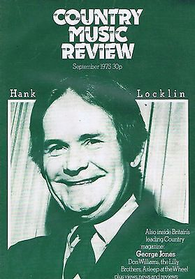 HANK LOCKLIN / GEORGE JONES / DON WILLIAMS	Country Music Review	Sep	1975