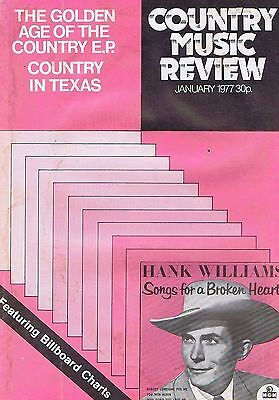 HANK WILLIAMS 	Country Music Review	Jan	1977