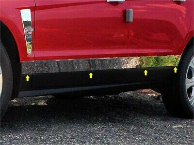 "Fits 2010-2016  CADILLAC SRX 4-door, SUV (3.5"" - 3 0.75"" tapered Width)-Stainles"