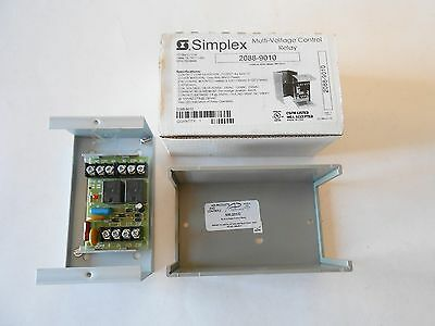 Simplex 2088-9010 Multi-Voltage Control Relay NOS Lot 4