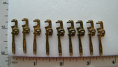 9 - Mini Brass Pipe Wrenches.