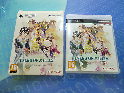 Tales Of Xillia Day One Edition Ps3 - Solo Confezione - No Gioco/si Cd Musicale