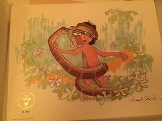 Disney Jungle Book Lithograph. Limited edition