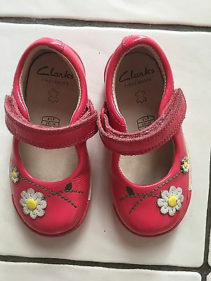 Clarks Girls Shoes Size 4 1/2 F