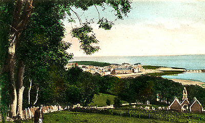 ANGLESEY - Pre 1918 Postcard depicting General View of BEAUMARIS