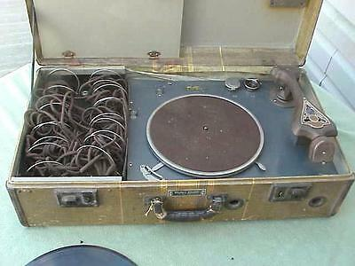 rare 4-C  Western Electric phonograph type audiometer ( as is) read description