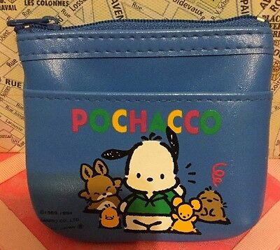 A Small Blue Vintage Sanrio 1989, 1994 Coin Purse