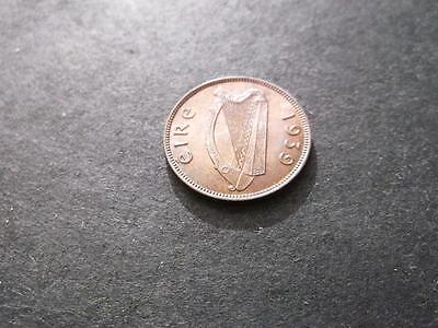 Ireland Farthing 1939 Unc Red And Lustous Brown Superb Coin  A2208