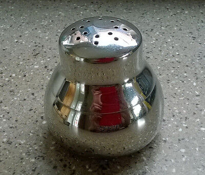Vintage Old Hall Stainless Steel Sugar Flour Shaker Dumpy Design