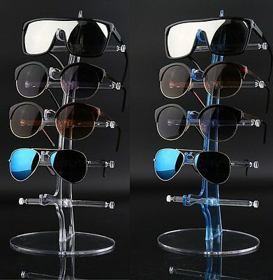 5 Pair Plastic Sunglasses Glasses Show Rack Counter Display Stand Holder Z#