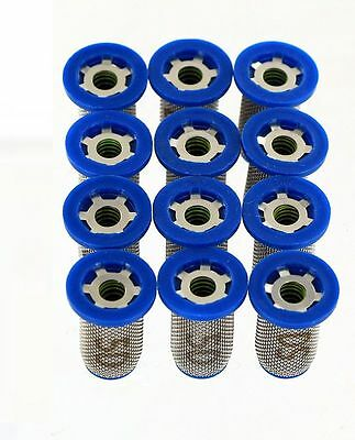 12 Pack - TeeJet 4193A-PP-10-50SS Nozzle Strainer w/ Check Valve - 50 Mesh