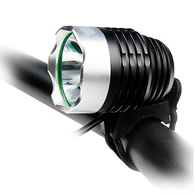 Cycle Torch USB Rechargeable Bicycle Light, Water Resistant Bike LED Headlight G