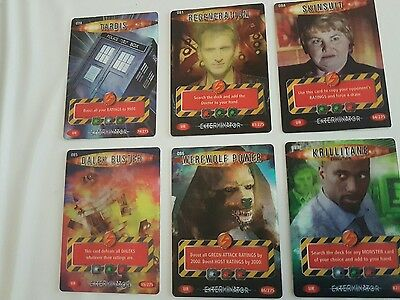 Doctor Who Battles In Time - Ultra Rare Cards Exterminator
