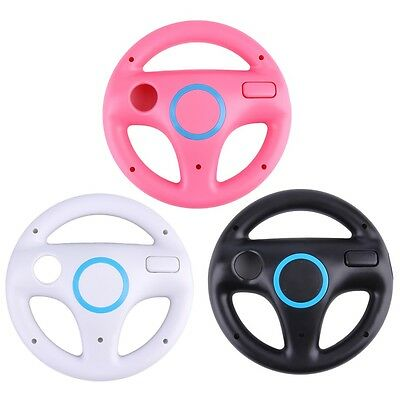 Game Racing Steering Wheel for Nintendo Wii Mario Kart Remote Controller IB99