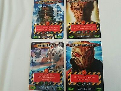 Doctor Who Battles In Time - Ultra Rare Cards Annihilator