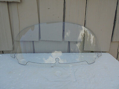 "Harley 8"" Clear Windshield '14/Up Electra/Street/TriGlide w/Batwing Fairings"