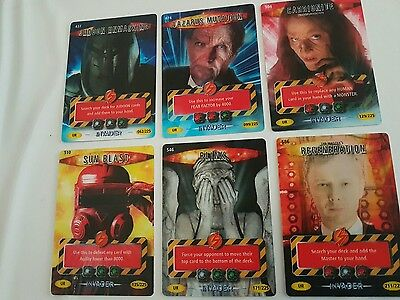 Doctor Who Battles In Time - Ultra Rare Cards Invader