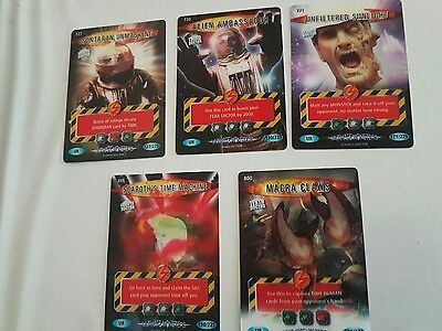 Doctor Who Battles In Time - Ultra Rare Cards Ultimate Monsters