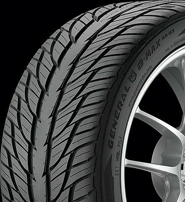 New Set Of 4 -- General Gmax As03 225/50R18 95W  Tires